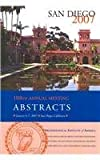 AIA 108th Annual Meeting Abstracts, Volume 30, Archaeological Institute of America, 1931909172