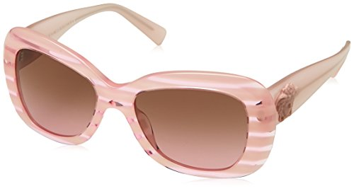 Versace Women's VE4317 Sunglasses Rule Pink / Violet Gradient Brown - Sunglasses Pink Versace