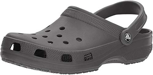 crocs Women's Classic Mule  Slate Grey – 8 US Men/ 10 US Women M US