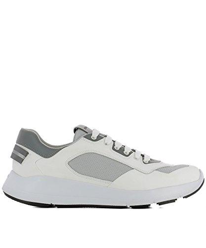 Sneakers Weiss Prada 4E3172108NF0009 Leder Herren pRqwYHxY