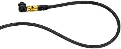Lezyne Hose With Flip-Thread Chuck Pump Lez Hose W//flip Chuck Head Pv//sv W//hose