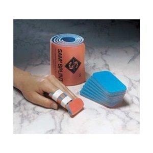 Splint, Finger, Orange/Blue, Foam, PK10