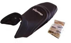 Funda de asiento de diseñ o, Honda Varadero XL 125 V - Top Sellerie WEB 1035+gel