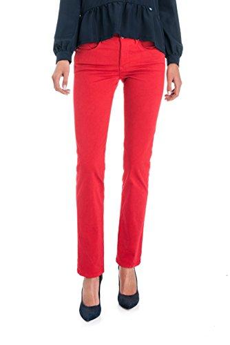 Slim in Rouge Secret Pantalons Push Salsa de Couleur U1Ifx