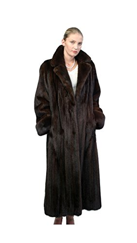Full Length Womens Mink Coat - 5