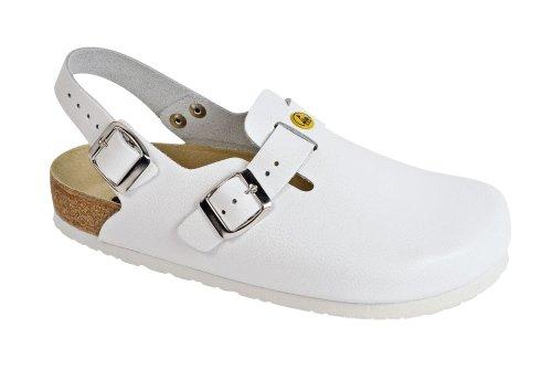 de adultos trabajo Unisex de Weeger Esd Clog weiss para Zapatos blanco wgqIf7W