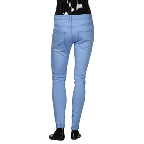 Elasticizzati Casual Da Uomo Pantaloni Regolari Denim Jeans Blau Classiche Jogging Slim Vintage Ragazzi Base AfqAZIPw