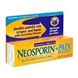 Pfizer Neosporin Plus Pain Relief Cream - Maximum Strength, First Aid Antibiotic, 0.5 Ounce -- 12 per case.