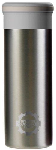 STEEL WORKS (Steel Works) Thermo Mug Smoke Pearl 0.32L 90173 (japan import)