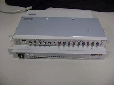 700 Rackmount - For-A Digital Color Corrector Dcc-700 Plus Dcc-Ou Remote Control Rackmount
