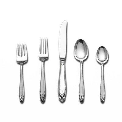 Prelude 6 Piece Dinner Flatware Set (International Sterling Silver Spoon)