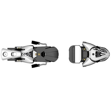 Salomon STH 12 Oversize Wide Brake Ski Bindings 2012