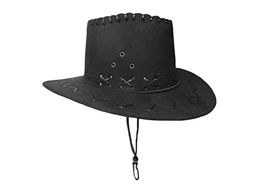 Jacobson Hat Company Child Cowboy Cowgirl Faux Suede Hat Western Colors Boys Girls Costume - Halloween Menu Themed
