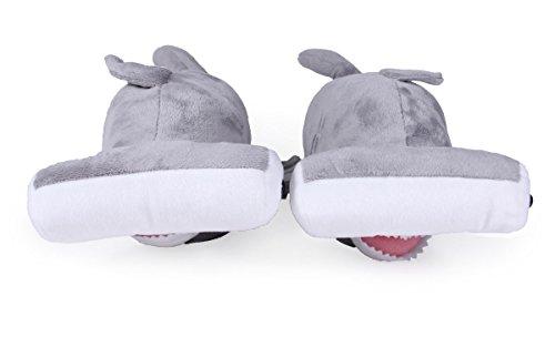 Slippers Premium Shark Foot Hammerhead Feet Styles Animal Womens Mens Happy 50 Full RTzW5w