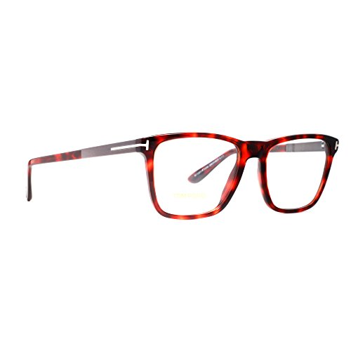 Tom Ford Montures de lunettes 5351 Pour Homme Black, 54mm 052: Dark Tortoise