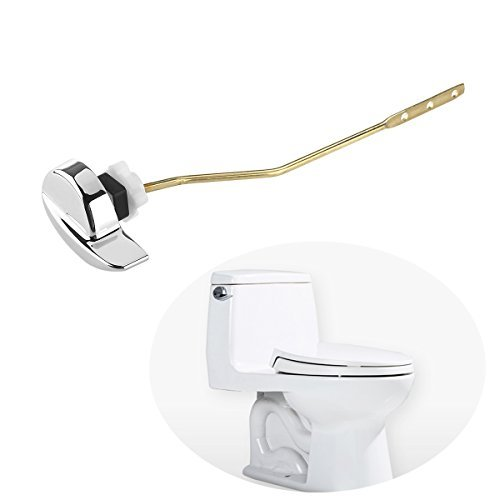 OULII Side Mount Toilet flush Lever Handle for TOTO Kohler Toilet (Side Mount Toilet Tank Lever)