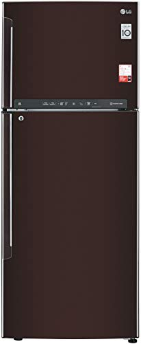 LG 471 L 2 Star Inverter Linear Frost-Free Double Door Refrigerator (GL-T502FRS2, Russet Sheen, Wi-Fi | Convertible) 2021 July Frost Free Refrigerator: Auto defrost function to prevent ice-build up Capacity 471 L: Suitable for families with 3 to 4 members or bachelors Energy Rating: 2 Star
