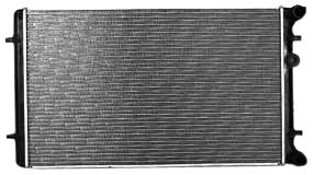 TYC 2265 Vollkswagen Golf 1-Row Plastic Aluminum Replacement Radiator