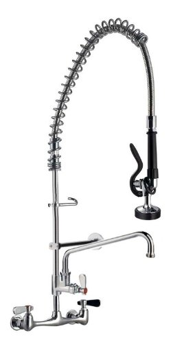 Ab Restaurant Equipment Pre Rinse Faucet With 12 Add On Faucet