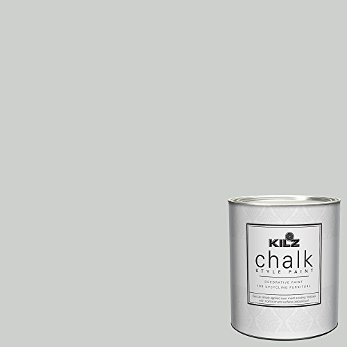 KILZ 00003804 Decorative Paint, 1 Quart, Chalk Gray (Gray Paint Joanna Gaines)