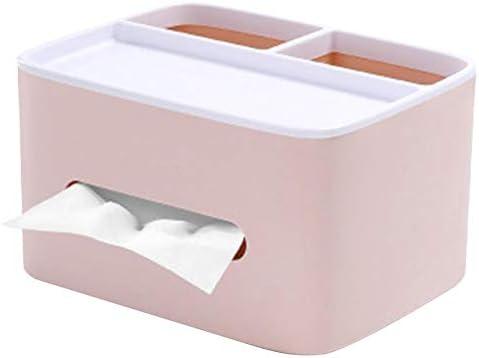 ロパ 1個 リモコンラック ティッシュケース ティッシュボックスシンプルクリエイティブノルディック ナプキン引き出し収納ボックス 卓上収納ケース リモコンラック 小物入れ 多機能 収納ボックス