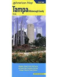 Amazon tampa florida books american map tampa hillsborough county florida pocket map sciox Image collections