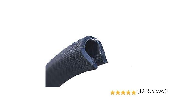 Negro /Rango 3/ /6/mm 3/m eutras Protector de bordes 2181/ks1151/R22711102/Perfil refuerzo/