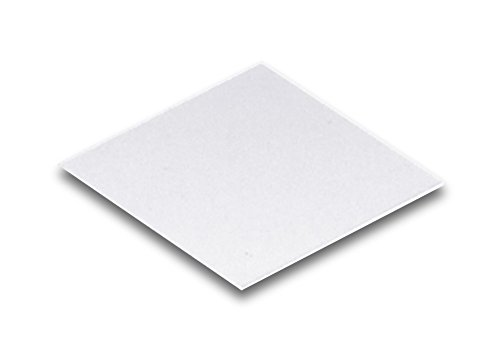 Technical Glass Products 1029OQKXV6R Fused Quartz Cover Slips, 1