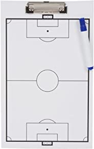Trademark Innovations Soccer Clipboard-Erasable White Board-Great for Coaches