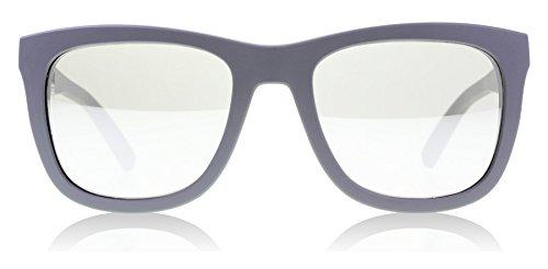 D&G Dolce & Gabbana Mens 0DG2145 Square Sunglasses, Grey Rubber, 53 - Dolce And Gabbana Wayfarer Sunglasses