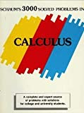 Schaum's Three Thousand Solved Problems in Calculus, Mendelson, Elliot, 0070414807