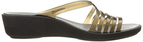 Crocs Kvinnor Isabella Mini W Kil Sandal Svart / Smoke