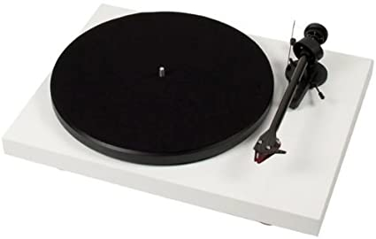 Pro-Ject Debut Carbon (DC) Turntable With Ortofon 2M Red Cartridge - White