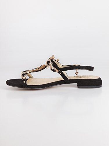 Braccialini pour pour Noir Sandales Femme Sandales Noir pour Femme Braccialini Sandales Noir Femme Braccialini wpcqxz6Ya