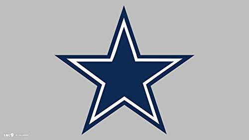 Dallas Cowboys Star Silhouette Stickers Symbol 6