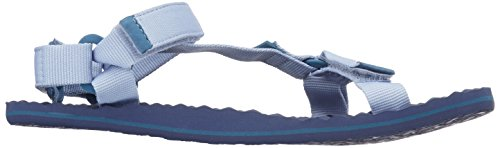 The North Face Base Camp Switchback, Sandalias de Senderismo Para Mujer Azul (Dusty Blue/blue Coral)