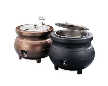 Vollrath Colonial Kettle (Vollrath BLACK Top Ring for 7 quart, Cayenne Colonial Kettles: 72170, 72171, 72180, 72181, 72185)