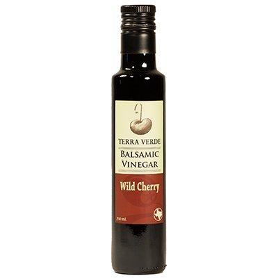 Terra Verde Balsamic Vinegar (Wild Cherry Balsamic, 250ml (2 (Texas Olive Tree)