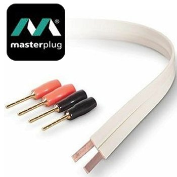 10m Masterplug FLAT 16 SWG Speaker Cable &: Amazon.co.uk: Electronics