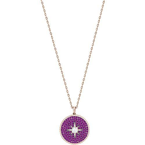 Swarovski Locket Pendant - Pink - Rose gold Plating - 5397125