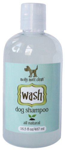 molly mutt wash dog shampoo, 16.5oz