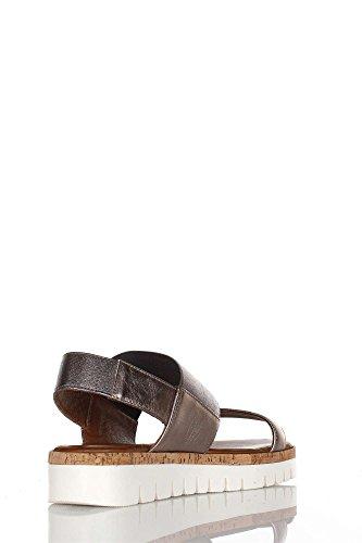 Inuovo SYDNEY, Sandalias Abiertas de Cuero Mujer marrón
