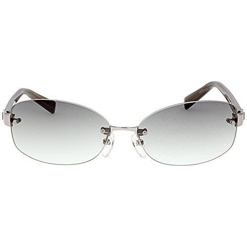 Frame Klein Calvin (Calvin Klein Metal Frame Grey Gradation Lens Ladies Sunglasses CK1179SA-143)