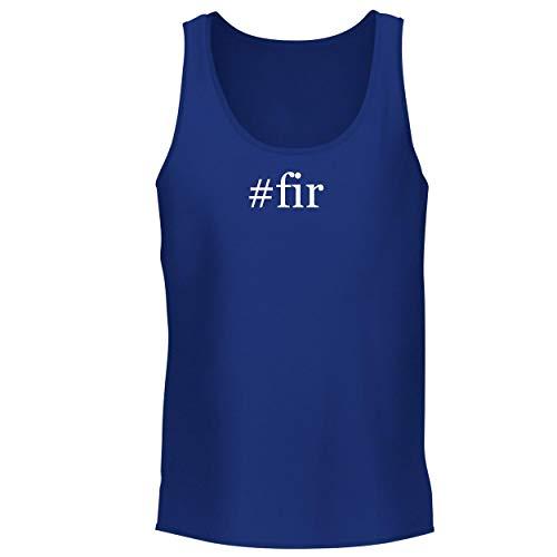(BH Cool Designs #fir - Men's Graphic Tank Top, Blue, Large)