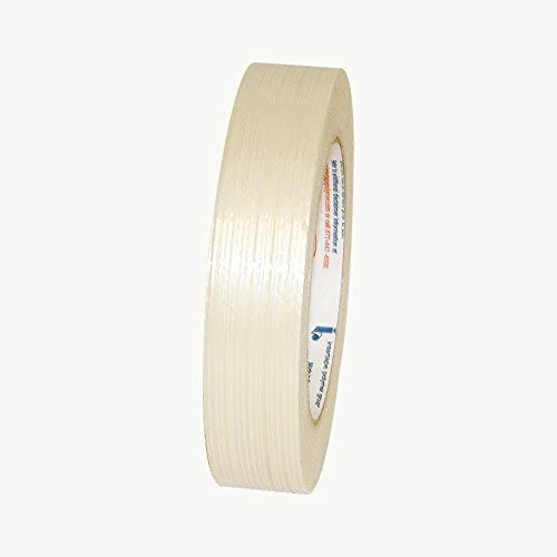 x 60 yds. White 1 in Intertape RG300 Utility Grade Filament Strapping Tape