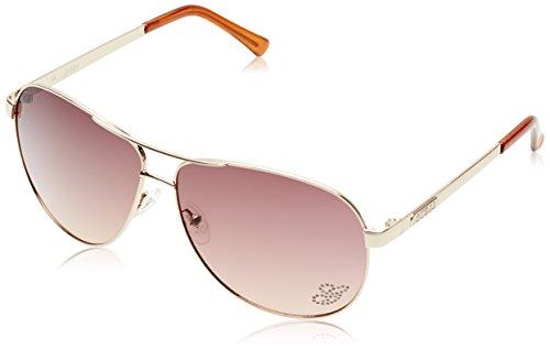 Womens GU7365 Aviator Fashion Sunglasses