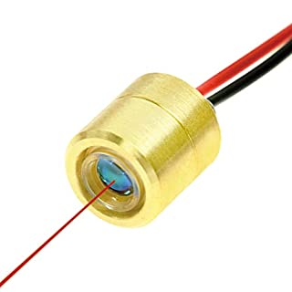 Quarton Mini Dot Size Red Laser Module VLM-635-63-LPT-100 (Class II Laser Module) (Focus: 10cm)