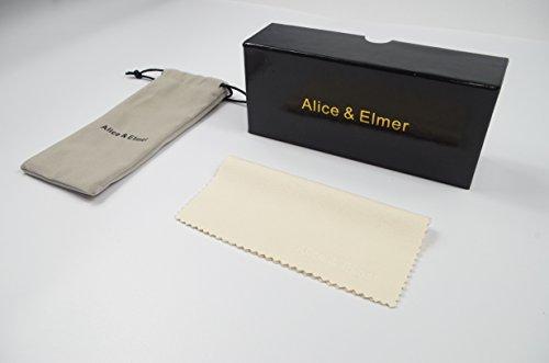 marrón Lente de Elmer marco hombre Gris amp; Alice lente sol con deportivas Gafas marrón para polarizadas Marco Verde ultraligero Espejado wBPqHqt