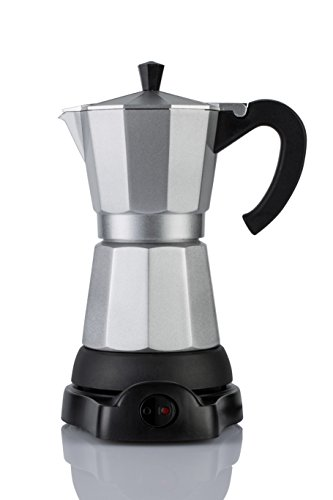 Mandarin-Gear - 6 cup - Electric Espresso coffee/moka stovetop maker 110V US image