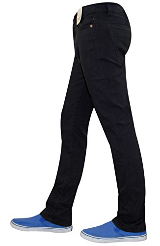 Skinny Jet Chinos Black Hommes Twill Brayn Jeans Cotton Stretch Jacksouth Cxtq7